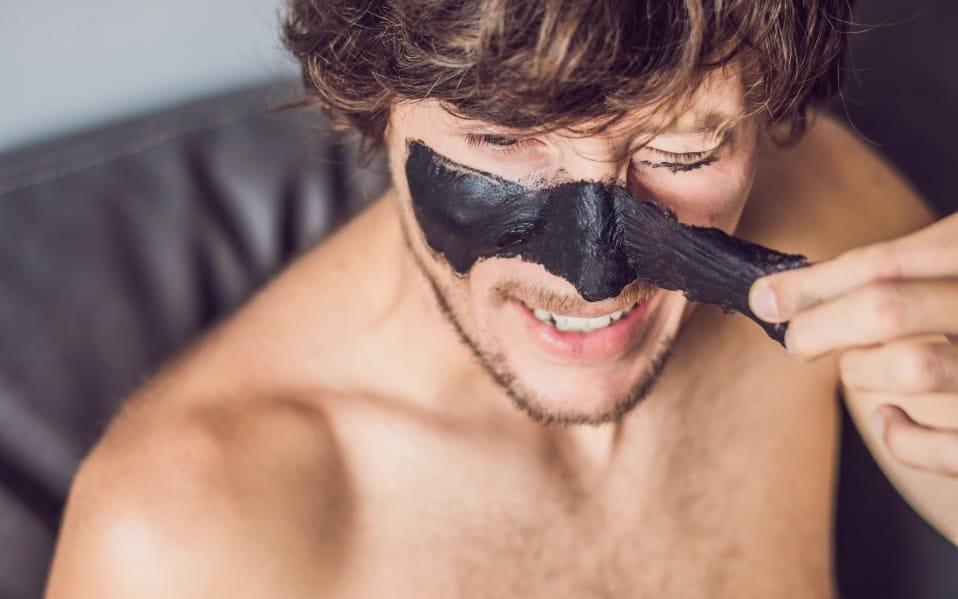 puntos negros mascara